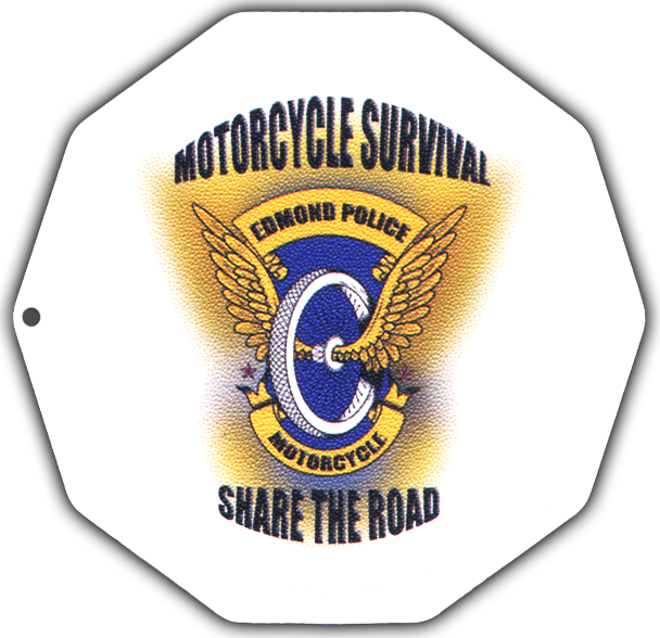 Motorcycle Coasters®, Full Color Digital Print kickstand support pad